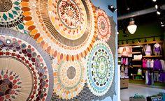 Mercury Mosaics - Handmade Artisan TileMercury Mosaics - Handmade Artisan Tile wall