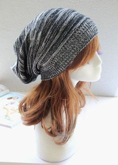 b8a50f4df62 Sandistore hot sale Unisex Knit Baggy Beanie Beret Winter Warm Oversized  Ski Cap Hat Wonderful gift for a you or your friends new and high quality.