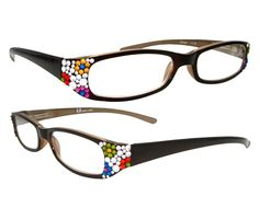 dba5da56fee5 cute Reading Glasses with Swarovski Crystal. I really want these! Gifts For  Readers