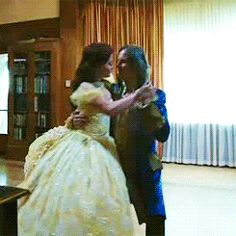 Once Upon a Time -- season 4 trrailer....#Rumple #Belle #Rumbelle #OUAT