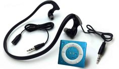 Fitness tech gifts: This set waterproofs your iPod Shuffle and headphone even for swimming.