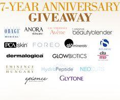 7-Year Anniversary Giveaway Win 1 of 25 prizes during BeautifiedYou.com's 7-Year Anniversary #Giveaway #contest #skincare http://virl.io/TVBNaRAm 7/9