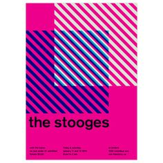 The Stooges, 1975 17x23.75 now featured on Fab.