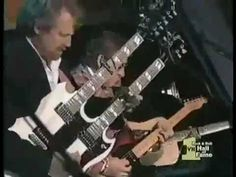 And in the master's chambers  They gathered for the feast,  They stabbed it with their steely knives,  But they just can't kill the beast...  Eagles   Hotel California Live at 1998 Hall of Fame Induction 360p (+pla...