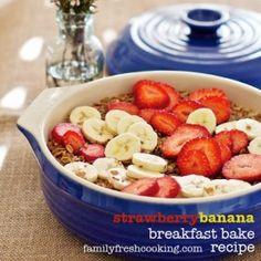 Healthy diet breakfast bake by jill