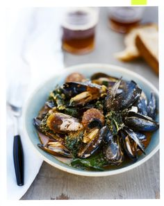 Get the recipe: Portuguese-Style Mussels