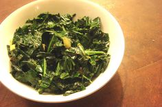spiced collard greens in mustard oil #Antiinflammatory