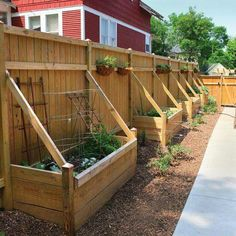 Use that Sun Facing Wall to Maximize Growth with these easy to build Beds !