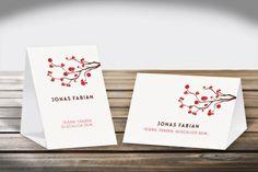 Platzkarten Aufsteller  Design Baumblüte  DIN A6 Hoch- und Querformat #Platzkarten #Aufsteller #DINA6 #CHILIPFEFFERdesign  http://www.chilipfeffer-design.de/hochzeit/platzkarten/aufsteller_din_a6/index.html#Baumbluete