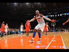 Carmelo Anthony and the New York #Knicks stayed unbeaten after taking on the Philadelphia #76ers last night.