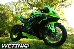 2007 GSXR600 Hydrographic Dip, Custom Paint,.