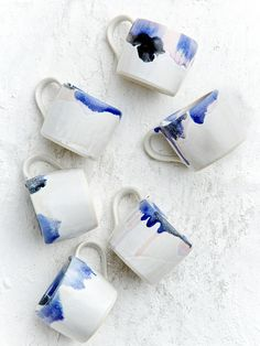 Melt Mugs by Robert Gordon — The Design Files | Australia's most popular design blog.
