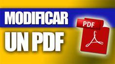 Cómo modificar un PDF (paso a paso) | TIC & Educación | Scoop.it