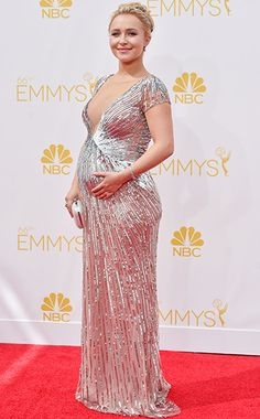 Hayden Panettiere at the Primetime Emmy Awards 2014