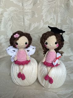 FREE--Crocheted dolls