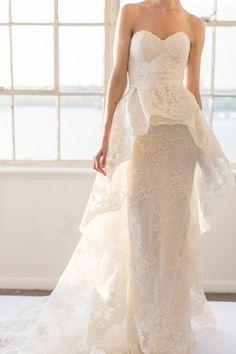 Marchesa Bridal Fall 2016 via theLANE