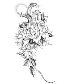 Skull Rose Tattoos, Red Ink Tattoos, Leg Tattoos, Cute Tattoos, Flower Tattoos, Body Art Tattoos, Small Tattoos, Unique Tattoos, Sleeve Tattoos