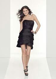 Smart little black dress