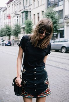 3 Ways To Style Embroidered Denim