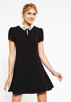 Zomerjurken NAF NAF ELALY - Korte jurk - noir Zwart: 59,95 € Bij Zalando (op…