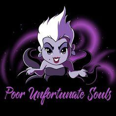 Poor Unfortunate Souls T-Shirt The Little Mermaid TeeTurtle