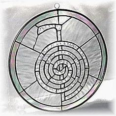 Reiki stained glass window - how gorgeous would this be installed with light streaming through. Imagine sitting in the spot where that light falls, practicing Reiki....