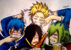 (Left to Right) Jellal Fernandes, Rogue Cheney, Sting Eucliffe, Freed Justine Freed Fairy Tail, Fairy Tail Rogue, Fairy Tail Ships, Fairy Tale Anime, Fairy Tail Manga, Fairy Tales, Lyon, Fairy Tail Sabertooth, Freed Justine