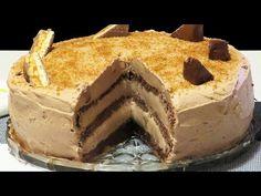 Tort de Ciocolata cu Mascarpone si Snickers - YouTube