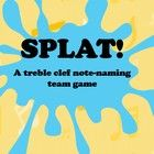 A fun note naming race game for students using flyswatters to quickly decode the notation to one of the given word choices. Uses only the treble cl...