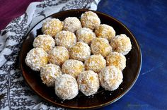 A beautiful ladoo, that's loaded with the fresh flavor of desiccated coconut and…