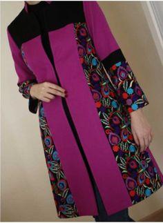 Batik Fashion, Fashion Sewing, Sweet Sixteen Dresses, Iranian Women Fashion, Sleeves Designs For Dresses, Kurti Designs Party Wear, Batik Dress, Mode Hijab, Winter Coats Women