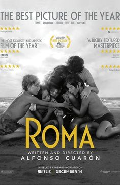 Roma directed by Alfonso Cuarón. With Yalitza Aparicio, Marina de Tavira, Diego Cortina Autrey, Carlos Peralta. A year in the life of a middle-class family's maid in Mexico City in the early Netflix Movies, Movies 2019, Hd Movies, Movies To Watch, Movies Online, Movie Tv, Iconic Movies, The Best Films, Latest Movies
