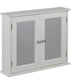 Buy Double Door Mirrored Bathroom Cabinet   White at Argos co uk   Your2 Door Wooden Bathroom Cabinet   White  from Homebase co uk  . 2 Door Wooden Bathroom Cabinet White. Home Design Ideas