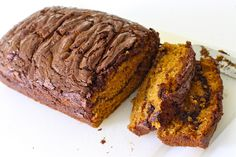 RECIPE: Chocolate Ribbon Pumpkin Bread   MADE