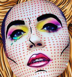 Augmented Reality, Pop Art, Filters, Halloween Face Makeup, Instagram, Art Pop