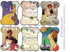 Cartonnettes publicitaires - Un boudoir dans un tiroir...