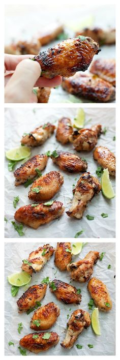 BBQ Lemongrass Wings recipe. These wings are THE BEST. So flavorful, so easy to make and you won't stop eating! http://rasamalaysia.com