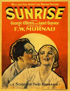 """Poster for """"Sunrise""""  (1927)"""