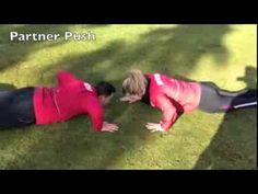 If you own a Bootcamp you must do the partner exercises. In this short movie there are more then 60 partner bootcamp drills! Fitness Facts, Group Fitness, Fitness Bootcamp, Killer Workouts, Buddy Workouts, Partner Exercises, Weight Exercises, Writing Exercises, Boot Camp Workout