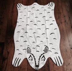 New Scandinavian Bear Heirloom Crib Blanket Play Rug Tummy Time Mat Bib | eBay