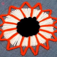 crewel embroidery a practical guide Hand Embroidery Videos, Hand Embroidery Flowers, Hand Embroidery Tutorial, Hand Work Embroidery, Flower Embroidery Designs, Creative Embroidery, Simple Embroidery, Learn Embroidery, Hand Embroidery Stitches
