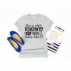 Teaching in 2020 Teacher Home School Back to School Shirt - Simply Crafty