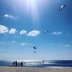 Flying high at Cabo de la Vela #colombia #kitesurfing #solitarysociety #beautifulbeaches #travelcom #kiteaddictcolombia