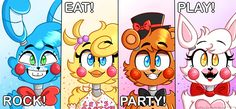 Prize corner poster 2017 by MousieMemeQueen on DeviantArt Freddy S, Fnaf Drawings, Cool Drawings, Cute Little Baby, Little Babies, Toy Bonnie, Fnaf Wallpapers, Fnaf Sl, Funtime Foxy