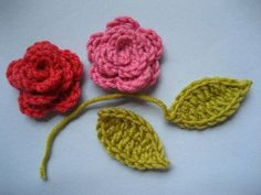 "#crochet ""May Roses"" tutorial from Lucy @ attic24"