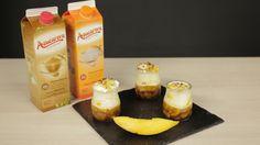 #Crumble de #Mango, postre refrescante y ligero para el #verano