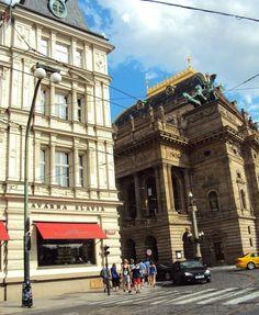 Café Slavia em Praga