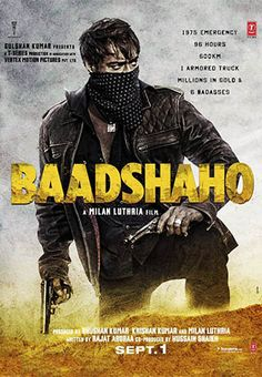Baadshaho (2017) Full Movie Free Download and Baadshaho (2017) Full Movie Watch Online Free in HD Quality.