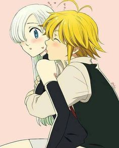 ~💛 from the story 💛~Parejas De Nanatsu No Taizai~💛 by (𝓂𝑒𝓃𝒹𝑒𝓈) with reads. Seven Deadly Sins Anime, Elizabeth Seven Deadly Sins, 7 Deadly Sins, Anime Neko, Otaku Anime, Kawaii Anime, Meliodas And Elizabeth, Japon Illustration, Anime Characters