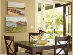 Personalize the art work in your dining area with custom canvas prints